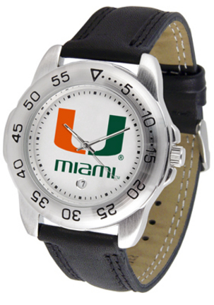 Miami Hurricanes Gameday Sport Men's Watch by Suntime