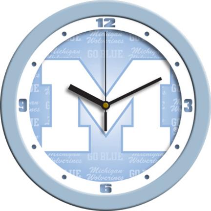Michigan Wolverines Clock Wolverines Clock Wolverines