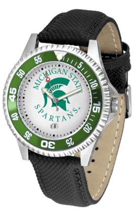 Michigan State Spartans Competitor Men's Watch by Suntime