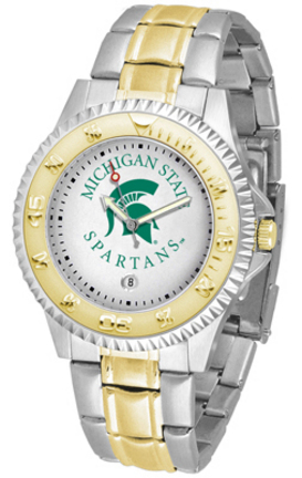 Michigan State Spartans Competitor Two Tone Watch
