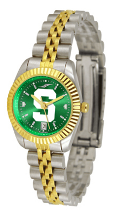 Michigan State Spartans Ladies' Executive AnoChrome Watch