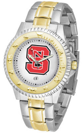 North Carolina State Wolfpack Competitor Two Tone Men's Watch