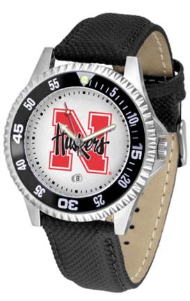 Nebraska Cornhuskers Competitor Men's Watch by Suntime