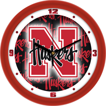 Nebraska Cornhuskers 12 inch Dimension Wall Clock