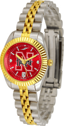 Nebraska Cornhuskers Ladies Executive AnoChrome Watch