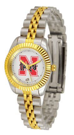 Nebraska Cornhuskers Ladies' Executive Watch by Suntime