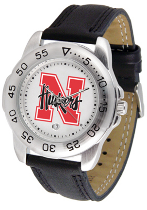 Nebraska Cornhuskers Gameday Sport Men's Watch by Suntime