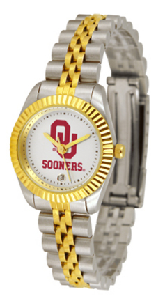 Oklahoma Sooners Ladies Executive Watch by Suntime