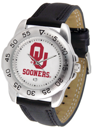 Oklahoma Sooners Gameday Sport Men's Watch by Suntime