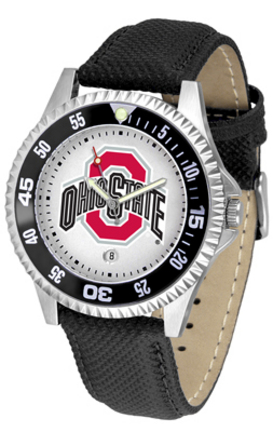 Ohio State Buckeyes Competitor Men's Watch by Suntime