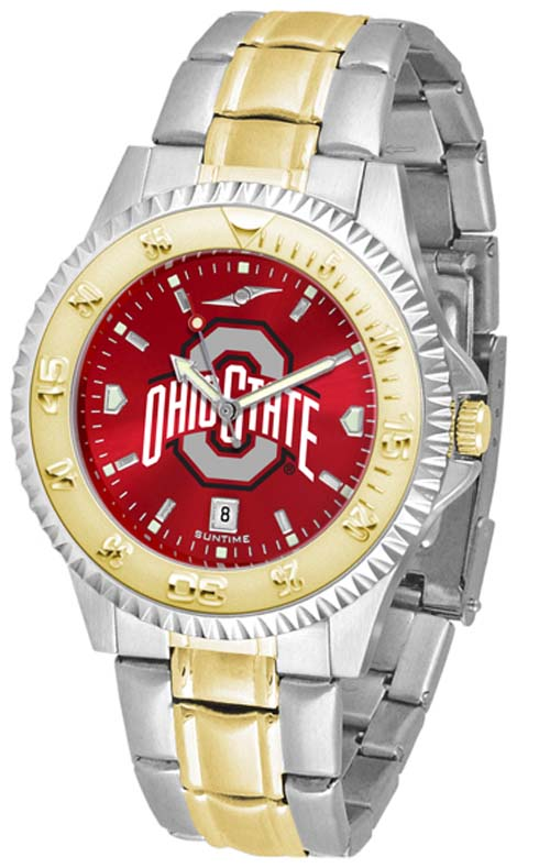 Ohio State Buckeyes Competitor AnoChrome Two Tone Watch