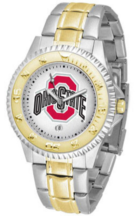 Ohio State Buckeyes Competitor Two Tone Mens Watch