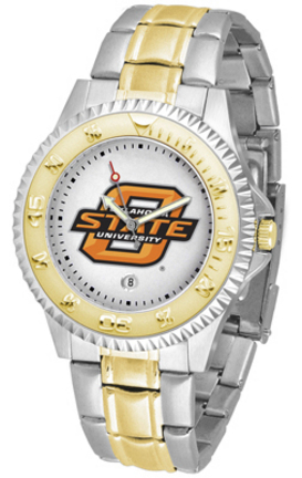 Oklahoma State Cowboys Competitor Two Tone Men's Watch