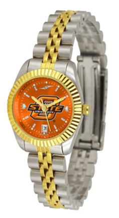 Oklahoma State Cowboys Ladies Executive AnoChrome Watch