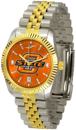 Oklahoma State Cowboys Executive AnoChrome Men's Watch