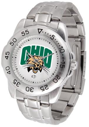 Ohio Bobcats Sport Steel Band Men's Watch