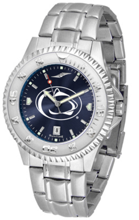 Penn State Nittany Lions Competitor AnoChrome Men's Watch with Steel Band