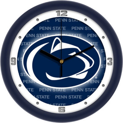 Penn State Nittany Lions 12inch Dimension Wall Clock
