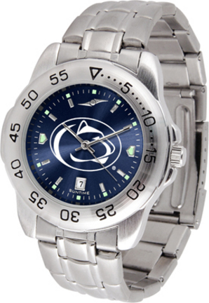 Penn State Nittany Lions Sport Steel Band Ano-Chrome Men's Watch