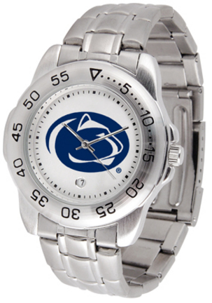 Penn State Nittany Lions Sport Steel Band Men's Watch