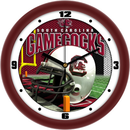 South Carolina Gamecocks 12 inch Helmet Wall Clock