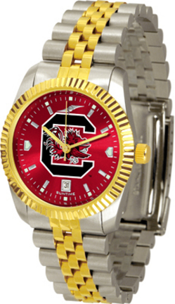 South Carolina Gamecocks Executive AnoChrome Men's Watch