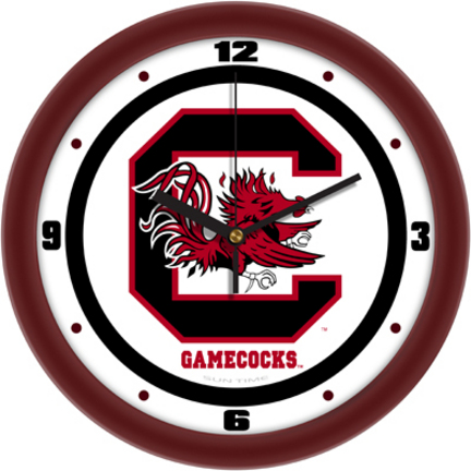 South Carolina Gamecocks Traditional 12 inch Wall Clock