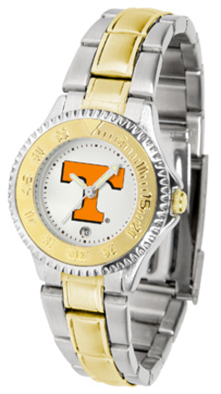 Tennessee Volunteers Competitor Ladies Watch with Two-Tone Band