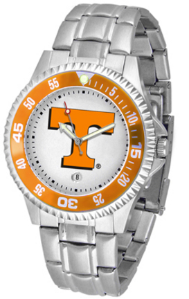 Tennessee Volunteers Competitor Watch with a Metal Band