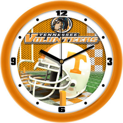 Tennessee Volunteers 12 inch Helmet Wall Clock