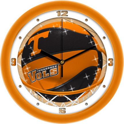 Tennessee Volunteers Slam Dunk 12 inch Wall Clock