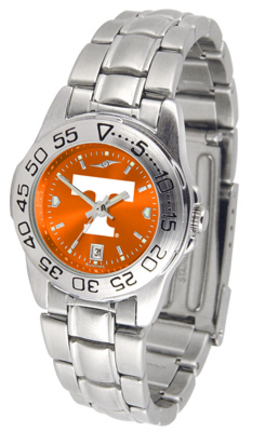 Tennessee Volunteers Sport AnoChrome Ladies Watch with Steel Band
