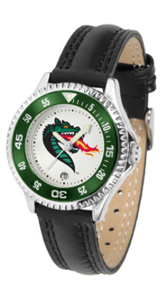 Alabama (Birmingham) Blazers Competitor Ladies Watch with Leather Band