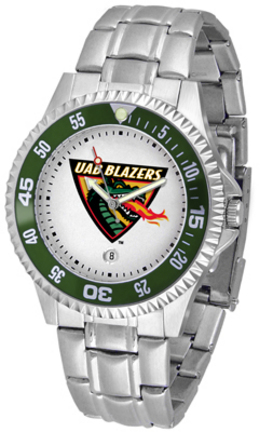 Alabama (Birmingham) Blazers Competitor Men's Watch with a Metal Band