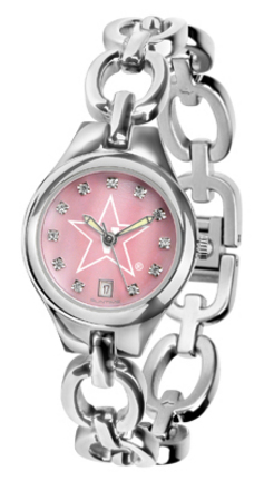 Vanderbilt Commodores Eclipse Ladies Watch with Mother of Pearl Dial