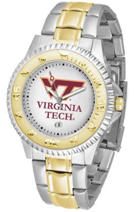 Virginia Tech Hokies Competitor Two Tone Men's Watch