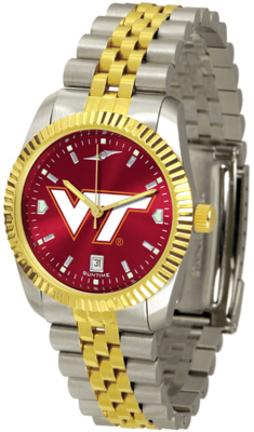 Virginia Tech Hokies Executive AnoChrome Men's Watch