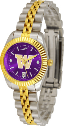 Washington Huskies Ladies Executive AnoChrome Watch