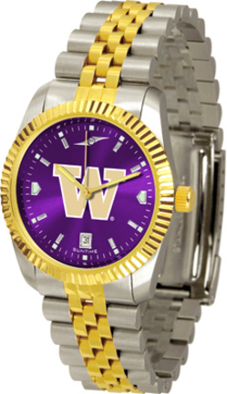 Washington Huskies Executive AnoChrome Men's Watch