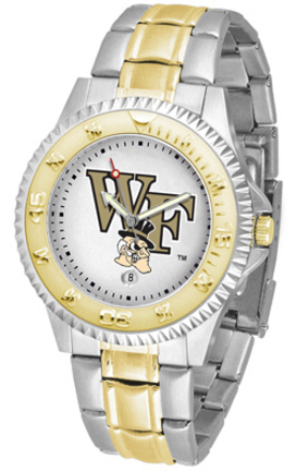 Wake Forest Demon Deacons Competitor Two Tone Men's Watch