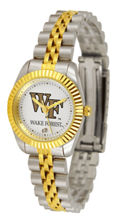 Wake Forest Demon Deacons Ladies Executive Watch by Suntime