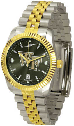 Wake Forest Demon Deacons Executive AnoChrome Men's Watch
