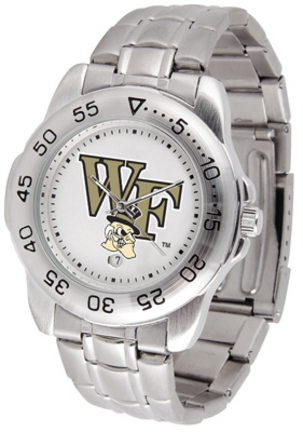 Wake Forest Demon Deacons Sport Steel Band Men's Watch