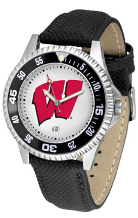 Wisconsin Badgers Competitor Men's Watch by Suntime