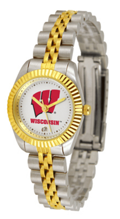 Wisconsin Badgers Ladies Executive Watch by Suntime