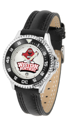 Western Kentucky Hilltoppers Competitor Ladies Watch with Leather Band
