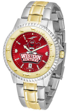 Western Kentucky Hilltoppers Competitor AnoChrome Two Tone Men's Watch