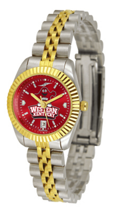 Western Kentucky Hilltoppers Ladies Executive AnoChrome Watch