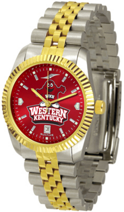 Western Kentucky Hilltoppers Executive AnoChrome Men's Watch