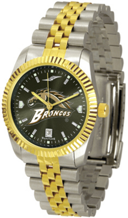 Western Michigan Broncos Executive AnoChrome Men's Watch